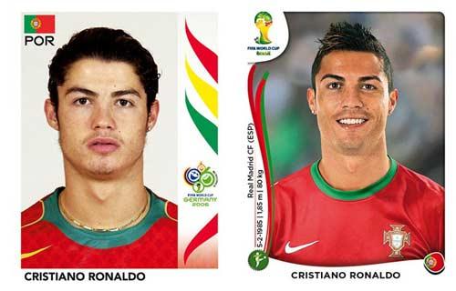World Cup ngày ấy - bây giờ của Ronaldo, Messi - 1