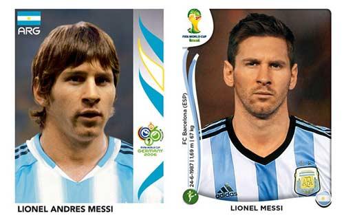 World Cup ngày ấy - bây giờ của Ronaldo, Messi - 2