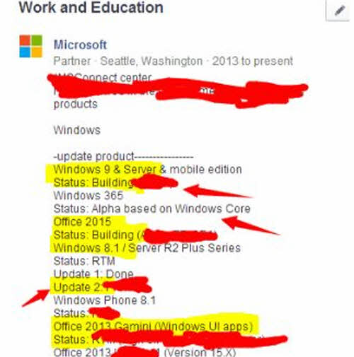 Microsoft đang làm việc với Windows 9 và Office 2015 - 2