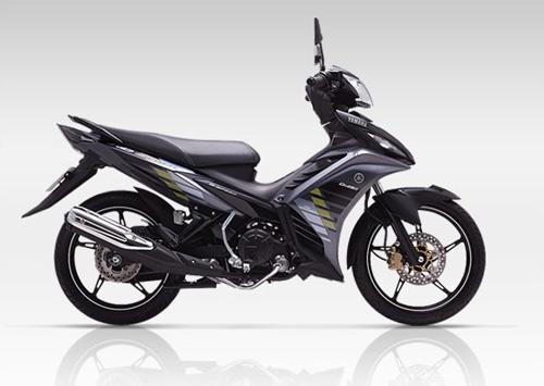 Yamaha Exciter 2014 thêm màu đen và tem mới - 1