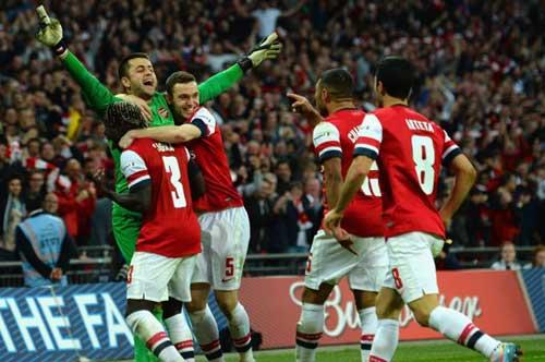Arsenal - Hull City: Lịch sử gọi tên - 1