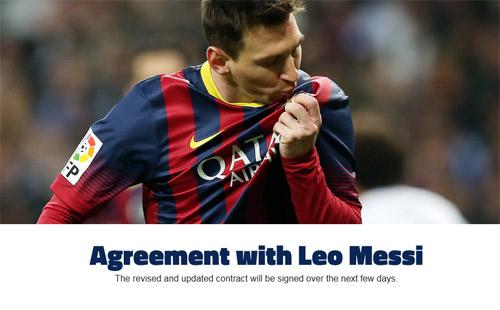 Messi biến Ronaldo thành số 3 thế giới về lương - 1