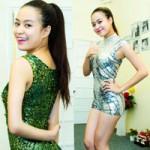 Thời trang - Hoàng Thuỳ Linh khoe chân thon với jumpsuit