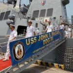 Tin tức trong ngày - Hải quân Mỹ muốn tăng cường hợp tác với Việt Nam