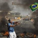 Bóng đá - Bạo loạn kinh hoàng ở Brazil phản đối World Cup