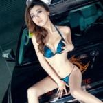 """Ô tô - Xe máy - Toyota in hình rồng đọ độ """"nóng"""" bên người đẹp"""