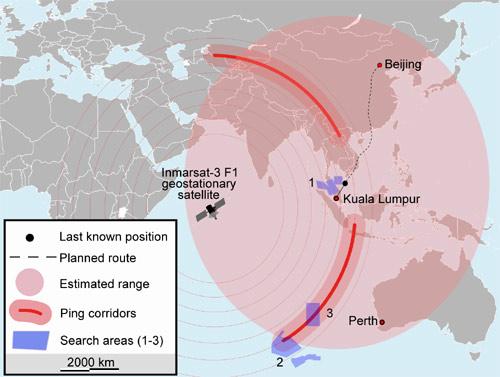 Vụ MH370: Xem xét lại toàn bộ dữ liệu radar quân sự - 2