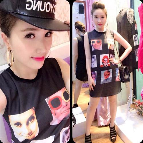 """Sao Việt """"xoa dịu"""" nắng nóng bằng váy áo mát mẻ - 3"""