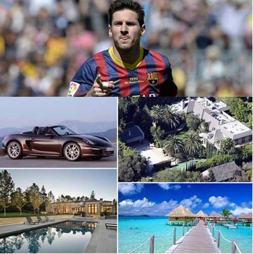 Messi nhận lương khủng: Thế giới đảo điên - 1