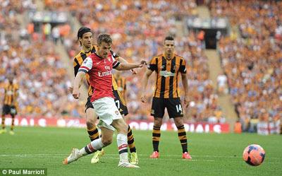 TRỰC TIẾP Arsenal - Hull City: Chấm dứt cơn khát (KT) - 9