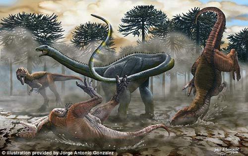 Phát hiện hóa thạch khủng long cao bằng tòa nhà 7 tầng - 3