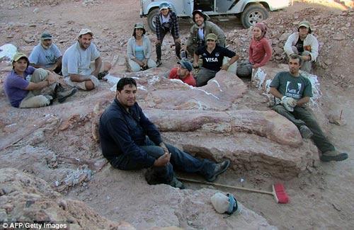 Phát hiện hóa thạch khủng long cao bằng tòa nhà 7 tầng - 6