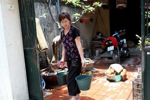 Dân Thủ đô nhịn tắm, ăn cháo vì mất nước - 9