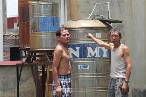 Dân Thủ đô nhịn tắm, ăn cháo vì mất nước - 11