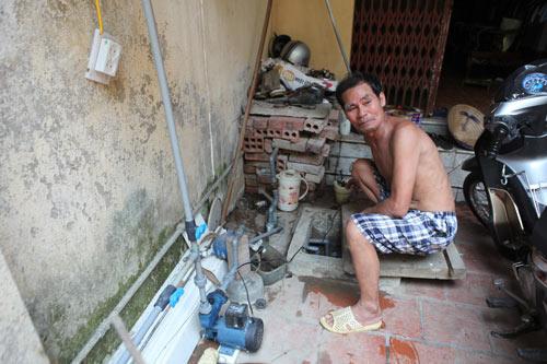 Dân Thủ đô nhịn tắm, ăn cháo vì mất nước - 10