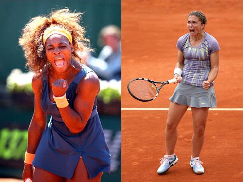 Serena - Errani: Dưới bóng tượng đài (CK Rome Open) - 1