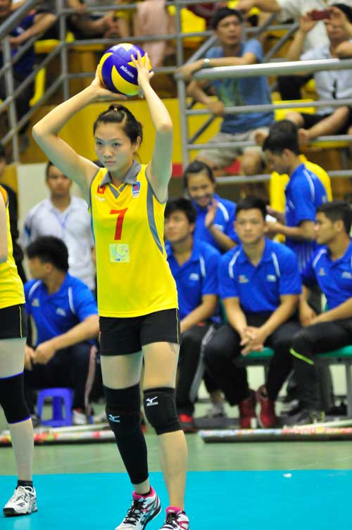 Ngắm các hotgirl bóng chuyền Việt Nam - 8