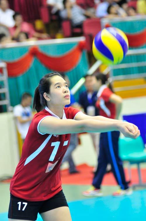 Ngắm các hotgirl bóng chuyền Việt Nam - 2