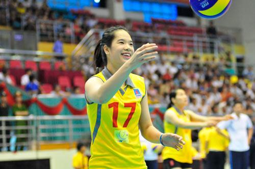 Ngắm các hotgirl bóng chuyền Việt Nam - 3