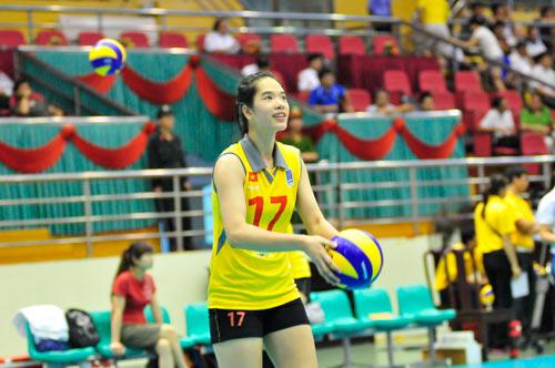 Ngắm các hotgirl bóng chuyền Việt Nam - 1