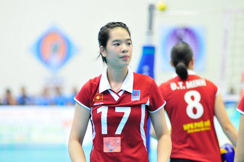 Ngắm các hotgirl bóng chuyền Việt Nam - 4