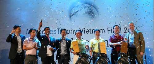 Xác định 3 golf thủ VN dự giải châu Á - 1