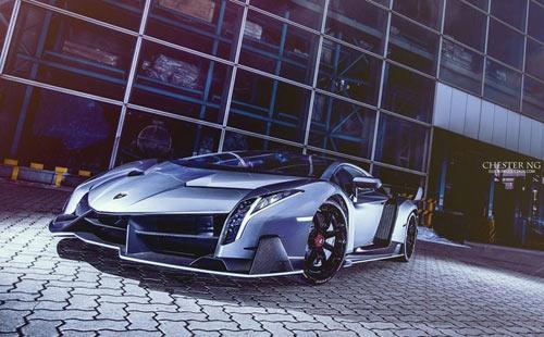Lamborghini Veneno cuối cùng đến Hồng Kông - 2