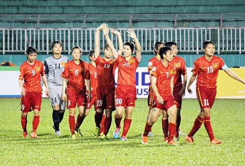 ĐT nữ Việt Nam đã thiếu may mắn trước Úc - 2