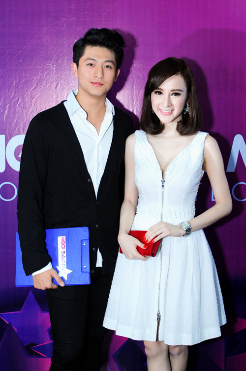 """Angela Phương Trinh bắt cặp """"bạn trai Hoàng Thùy Linh"""" - 1"""