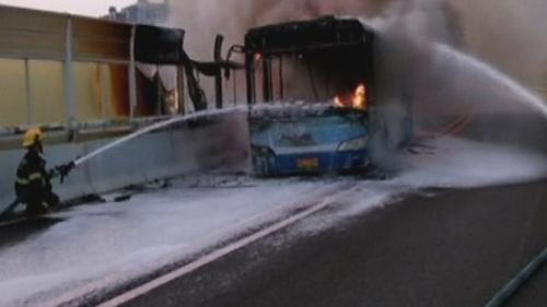 32 người thiệt mạng trong vụ cháy xe bus ở Colombia - 1