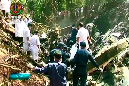 Vụ rơi máy bay quân sự Lào: Quốc tang 3 ngày - 1