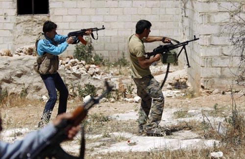 Syria: Tư lệnh lực lượng phòng không tử trận - 1
