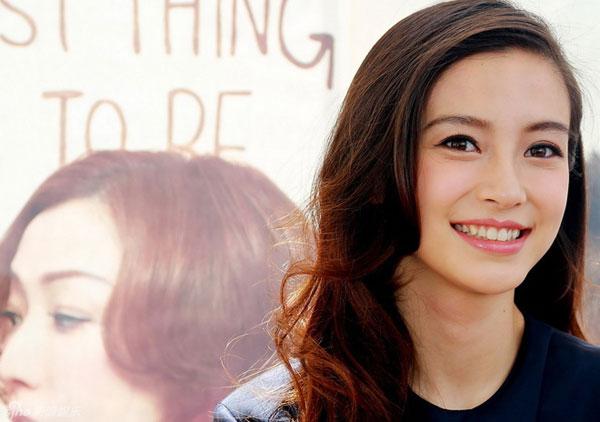 Angelababy không ngại sống với bố mẹ Huỳnh Hiểu Minh - 1