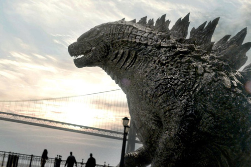 Quái vật Godzilla lập kỷ lục doanh thu mở màn 2014 - 2