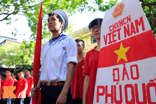 HS Kim Liên xếp hình đất nước, biển đảo Việt Nam - 4