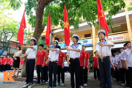 HS Kim Liên xếp hình đất nước, biển đảo Việt Nam - 3