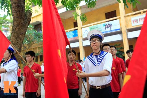 HS Kim Liên xếp hình đất nước, biển đảo Việt Nam - 10