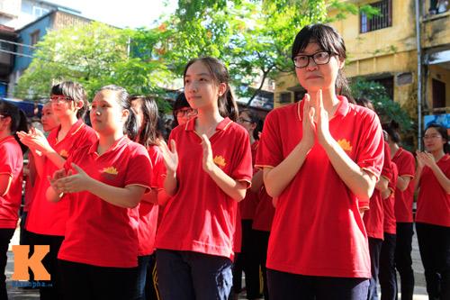 HS Kim Liên xếp hình đất nước, biển đảo Việt Nam - 11