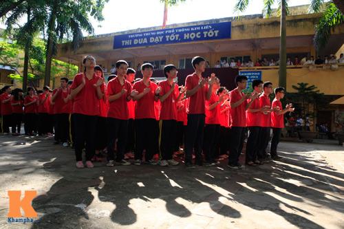 HS Kim Liên xếp hình đất nước, biển đảo Việt Nam - 12