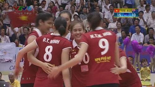 Việt Nam thắng áp đảo Australia ở VTV Cup - 1