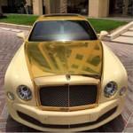 Ô tô - Xe máy - Bentley Mulsanne mạ vàng tuyệt đẹp