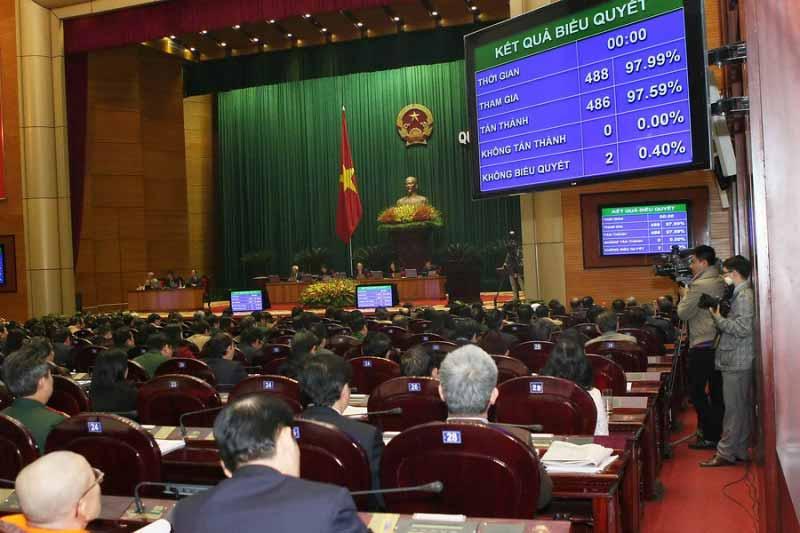 Hôm nay, Quốc hội khai mạc kỳ họp thứ 7 - 1