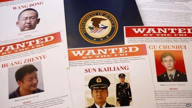 Mỹ truy tố 5 sỹ quan quân đội Trung Quốc - 1