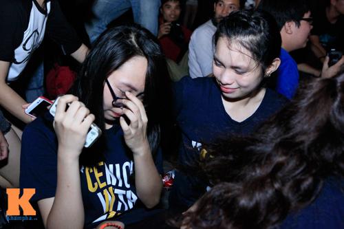 Học trò trường Ams bật khóc trong đêm chia tay - 4