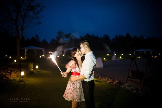 Ảnh cưới của Mai Thỏ và chú rể mê tốc độ - 12