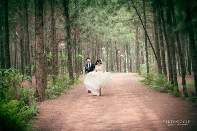 Ảnh cưới của Mai Thỏ và chú rể mê tốc độ - 9