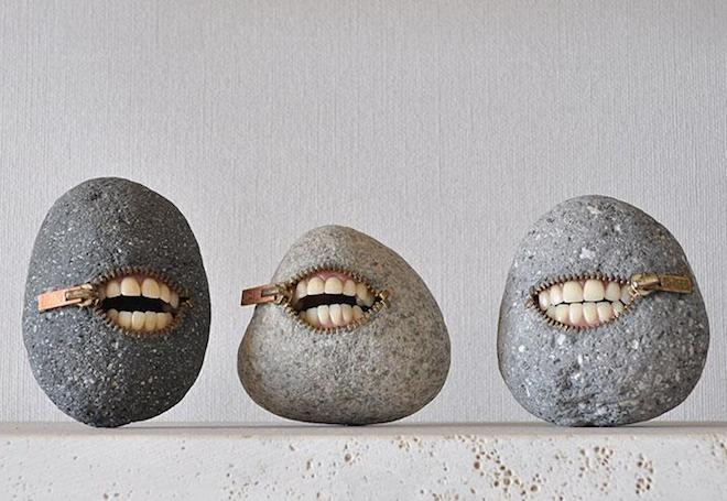 Những hòn đá biến thành đồ vật thật đến khó tin - 7