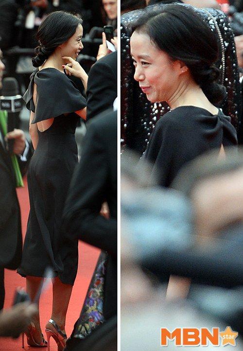 """Mỹ nhân Hàn Bae Doo Na bị cơn gió """"trêu đùa"""" - 7"""