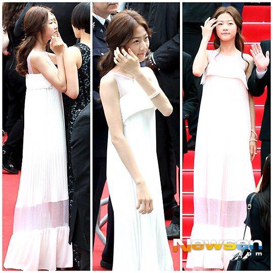 """Mỹ nhân Hàn Bae Doo Na bị cơn gió """"trêu đùa"""" - 6"""