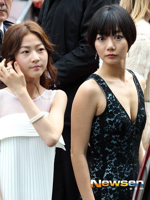 """Mỹ nhân Hàn Bae Doo Na bị cơn gió """"trêu đùa"""" - 4"""